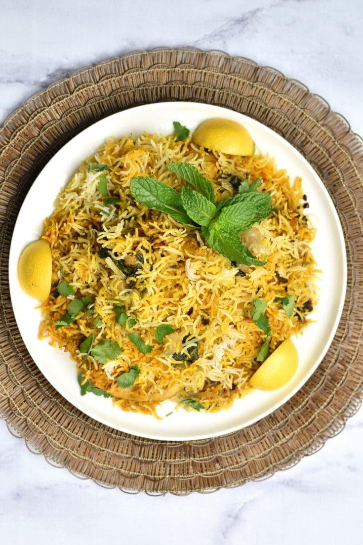 #9 Instant Pot Chicken Dum Biryani