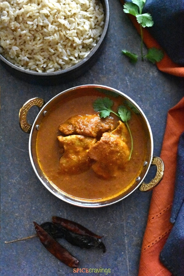Chicken Vindaloo In Instant Pot Spice Cravings