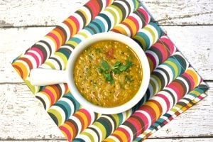 Toor Dal tadka, Split Pigeon pea soup, lentil soup, Instant Pot Soup by Spice Cravings. Toor Dal, also known as Arhar Dal or split yellow pigeon peas, is the most popular lentil all over India. Made with mustard seeds, onions and curry leaves. #food #foodie #foodblogger #delicious #recipe #instantpot #recipes #easyrecipe #cuisine #30minutemeal #instagood #foodphotography #tasty #indian