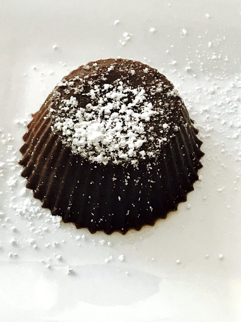 15-minute Chocolate Lava Cake by Spice Cravings. Also know as Molten Lave Cake, this popular dessert gets it's name from the warm gooey chocolate center, inside a moist and decadent cake. In this recipe, I have made this cake in my electric pressure cooker, Instant Pot! #cooking #food #recipe #recipes #foodphotography #foodblogger #yummy #delicious #foodie #dessert #chocolate #instantpot #dessertrecipes