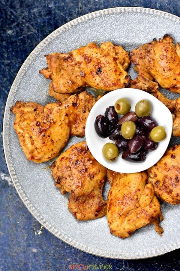 Mediterranean Chicken Recipe Spice Cravings