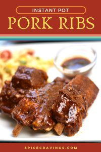 Instant Pot recipe for BBQ pork ribs