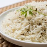 Jeera Rice or Cumin Rice, is a popular Indian side dish where delicious and aromatic basmati rice is cooked with the nutty and earthy cumin seeds. It is one of the most popular accompaniment with Indian curries. Quick and easy recipe by Spice Cravings. #food #foodie #foodblogger #delicious #recipe #instantpot #recipes #easyrecipe #cuisine #30minutemeal #instagood #foodphotography #tasty #indian #basmati #rice