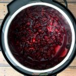 Cranberry sauce in Instant Pot