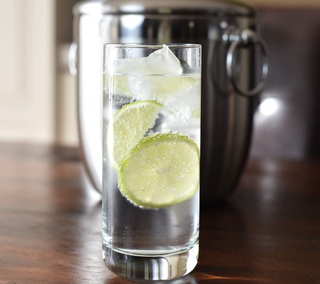 Low Carb Gin Tonic Cocktail, Party Drinks