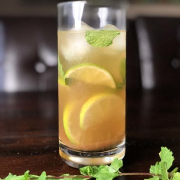 Jal-Jeera Vodka (Indian Vodka Mojito) Cocktail