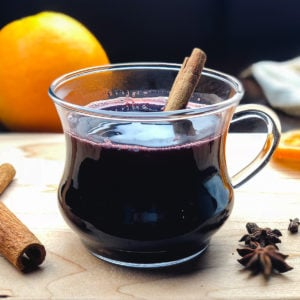 Citrus and spice infused mulled red wine recipe for Instant Pot