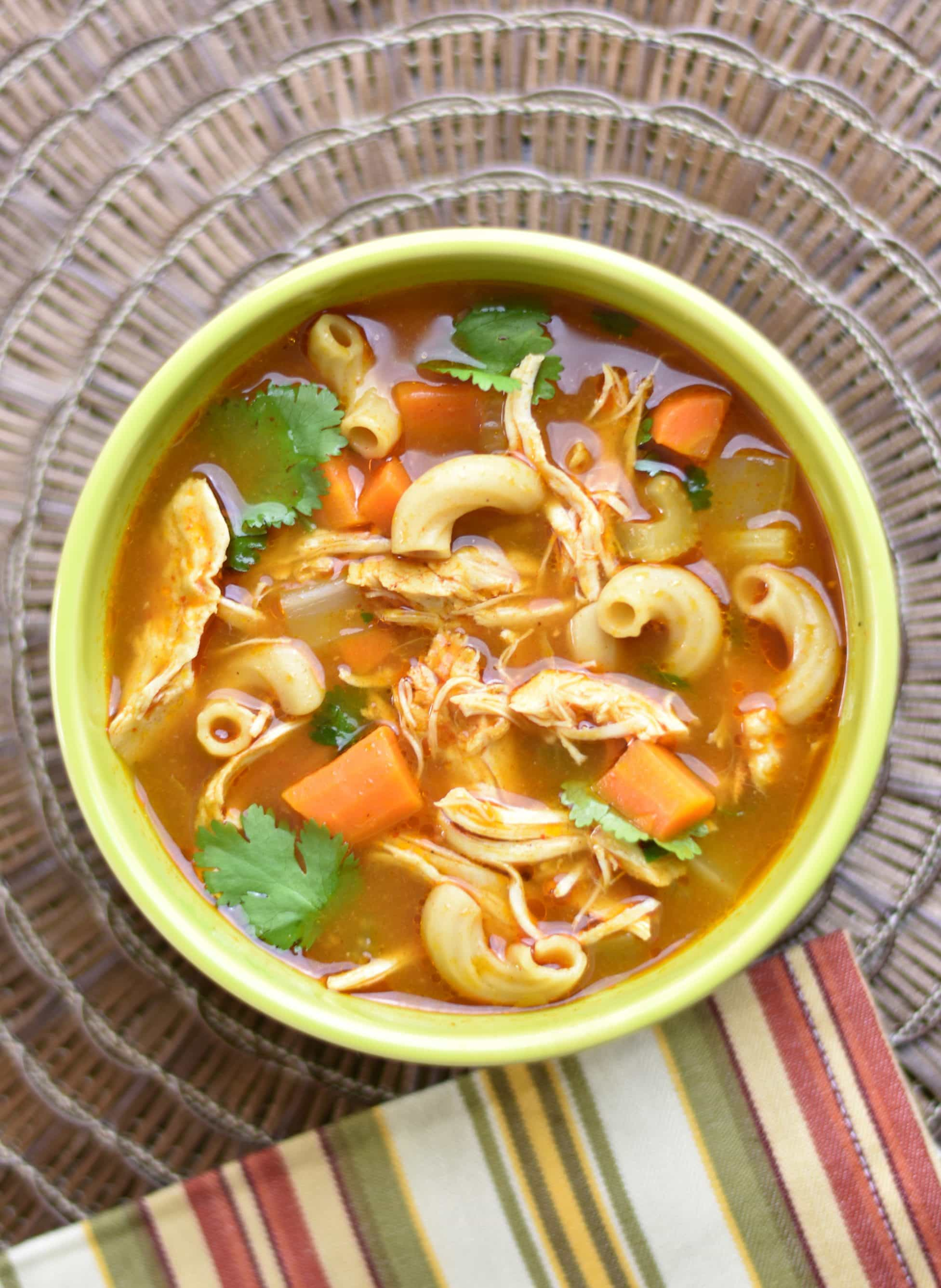 Chicken Noodle Soup With Ethiopian Spices In Instant Pot Spice Cravings