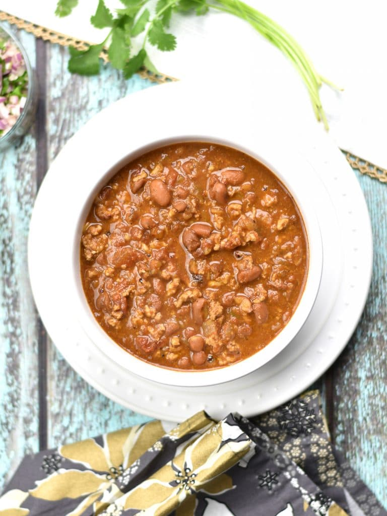 Instant Pot Chicken-Chili