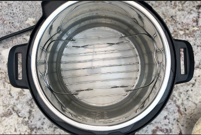 Placing a trivet or any stand in the Instant Pot
