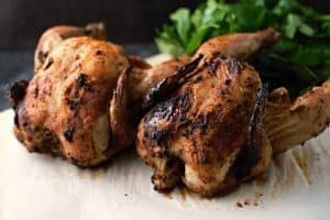 Grilled Beer Can Cornish Hens- Best Barbecue Picnic Recipes