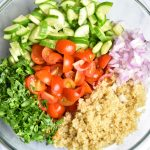Quinoa-Tabbouleh-Salad-Gluten Free Tabbouleh Salad by Spice Cravings