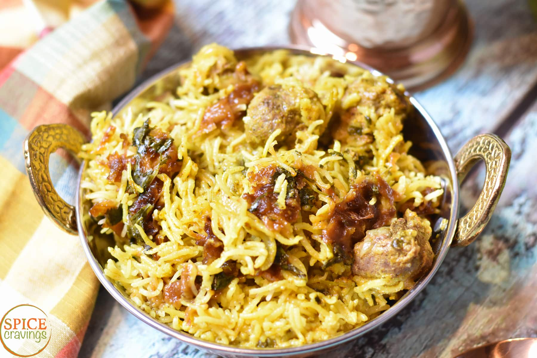 Lamb Dum Biryani In Instant Pot Spice Cravings