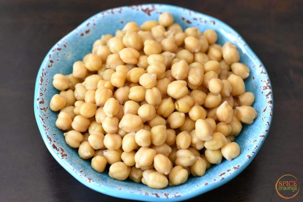 Easy Pressure cooking recipe for Instant Pot Chickpeas, also called Garbanzo Beans