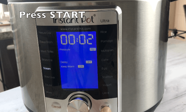 Instant Pot Water Test by Spice Cravings