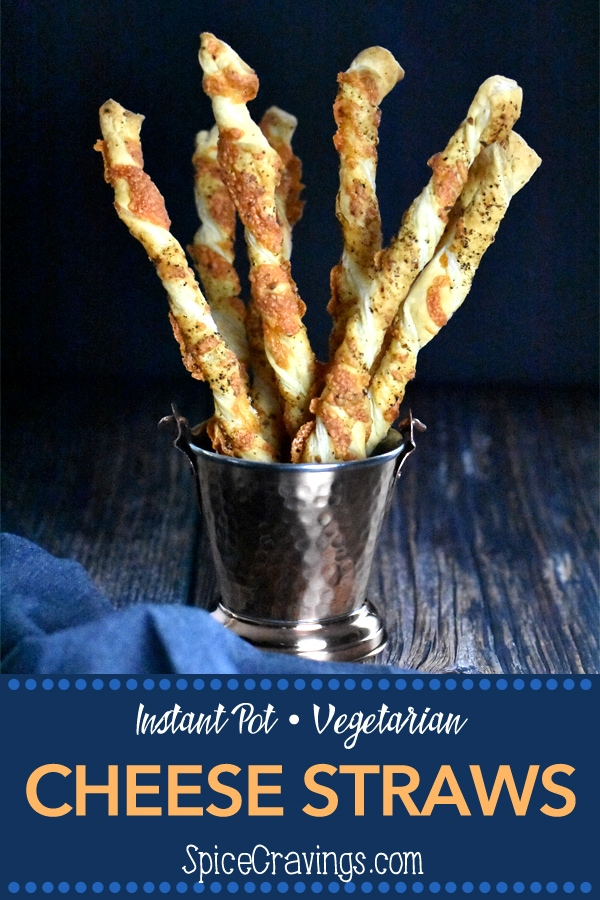 Easy recipe for homemade cheese straws