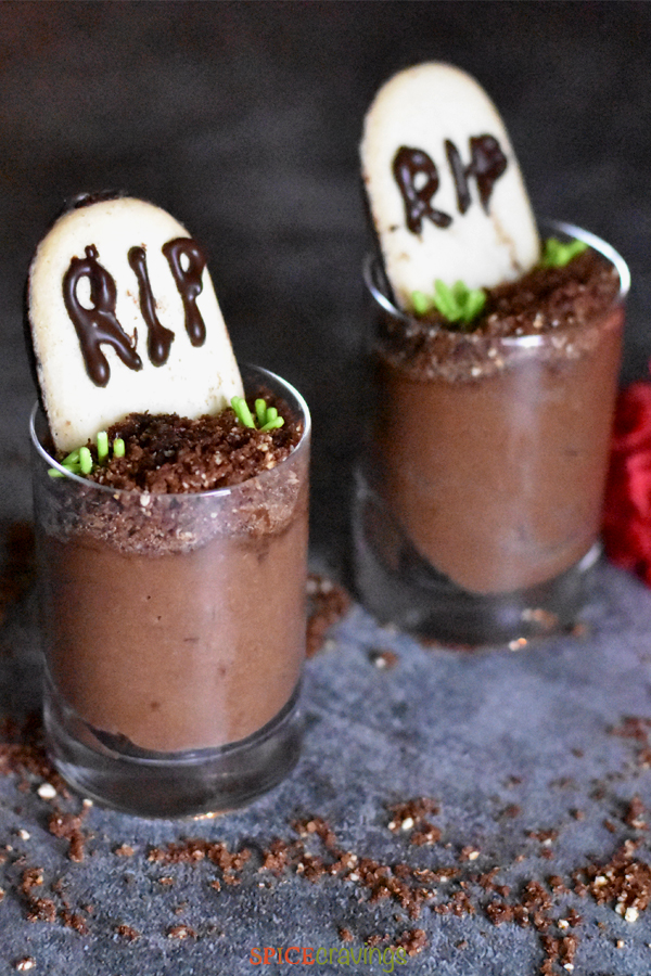 Best halloween dessert made with Chocolate Mousse recipe