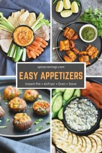 A collection of Easy Appetizers recipes including dips, chicken wings and more