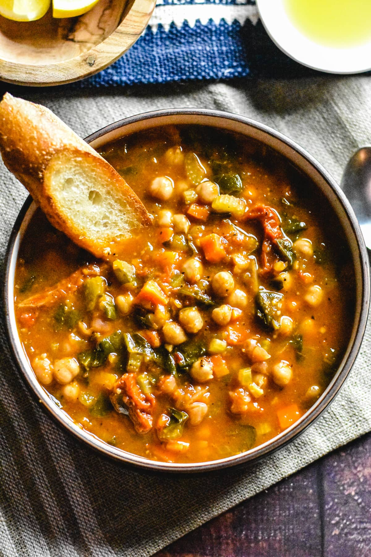 Moroccan Chickpea Soup In Instant Pot Spice Cravings