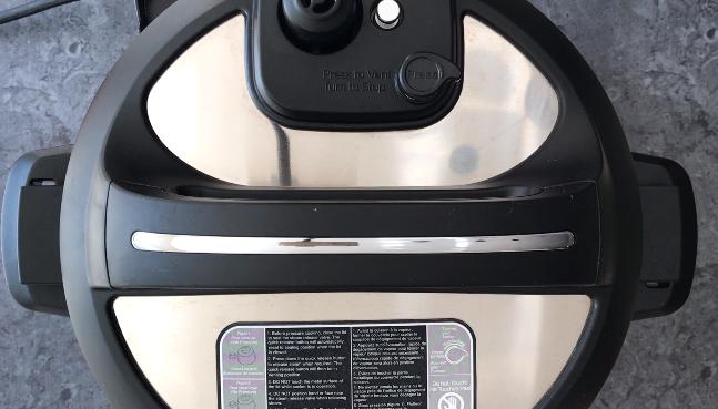 Pressure cooking in Instant Pot