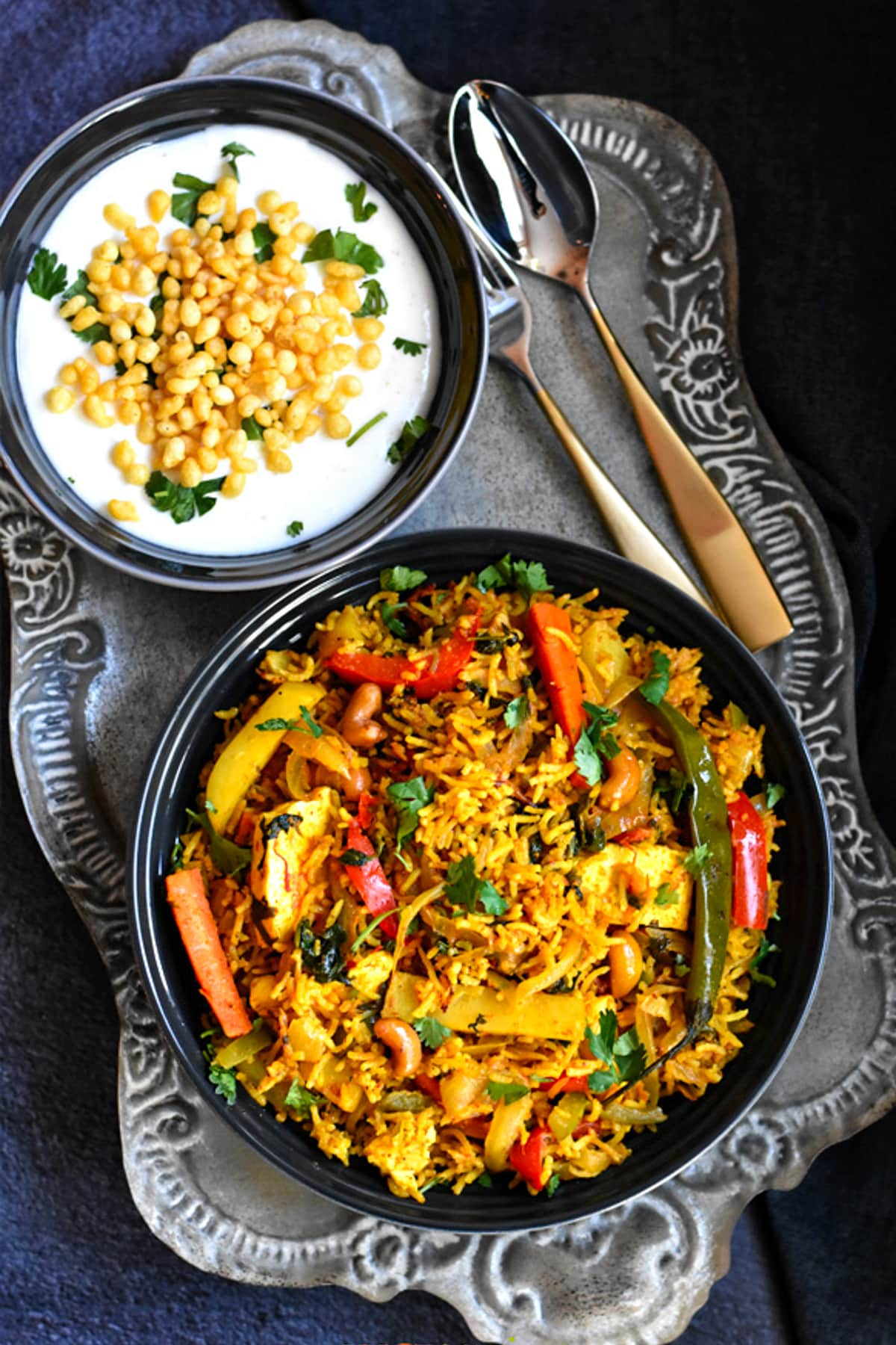 Instant Pot Vegetable Biryani Spice Cravings