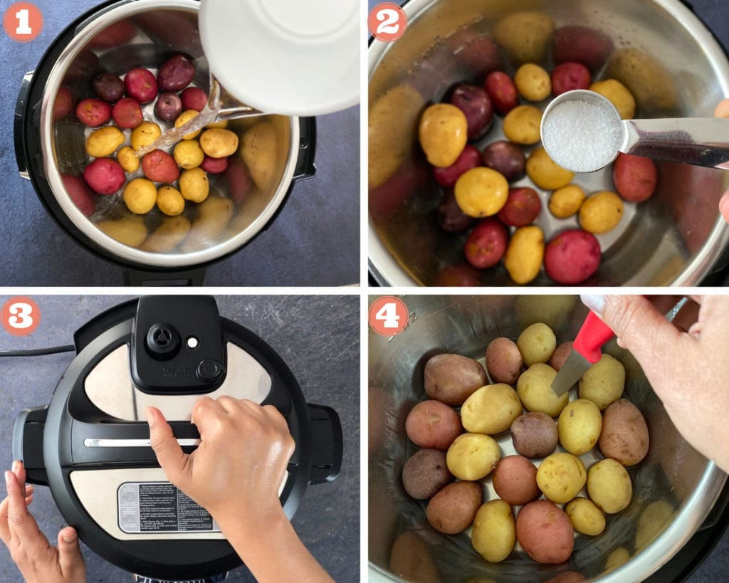 How to Steam Baby Potatoes in Instant Pot