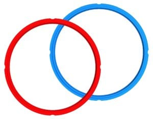 red and blue 2pk sealing rings