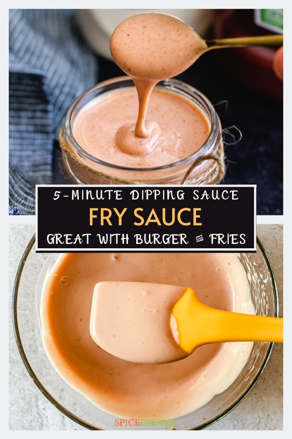 french fry sauce pinterest graphic