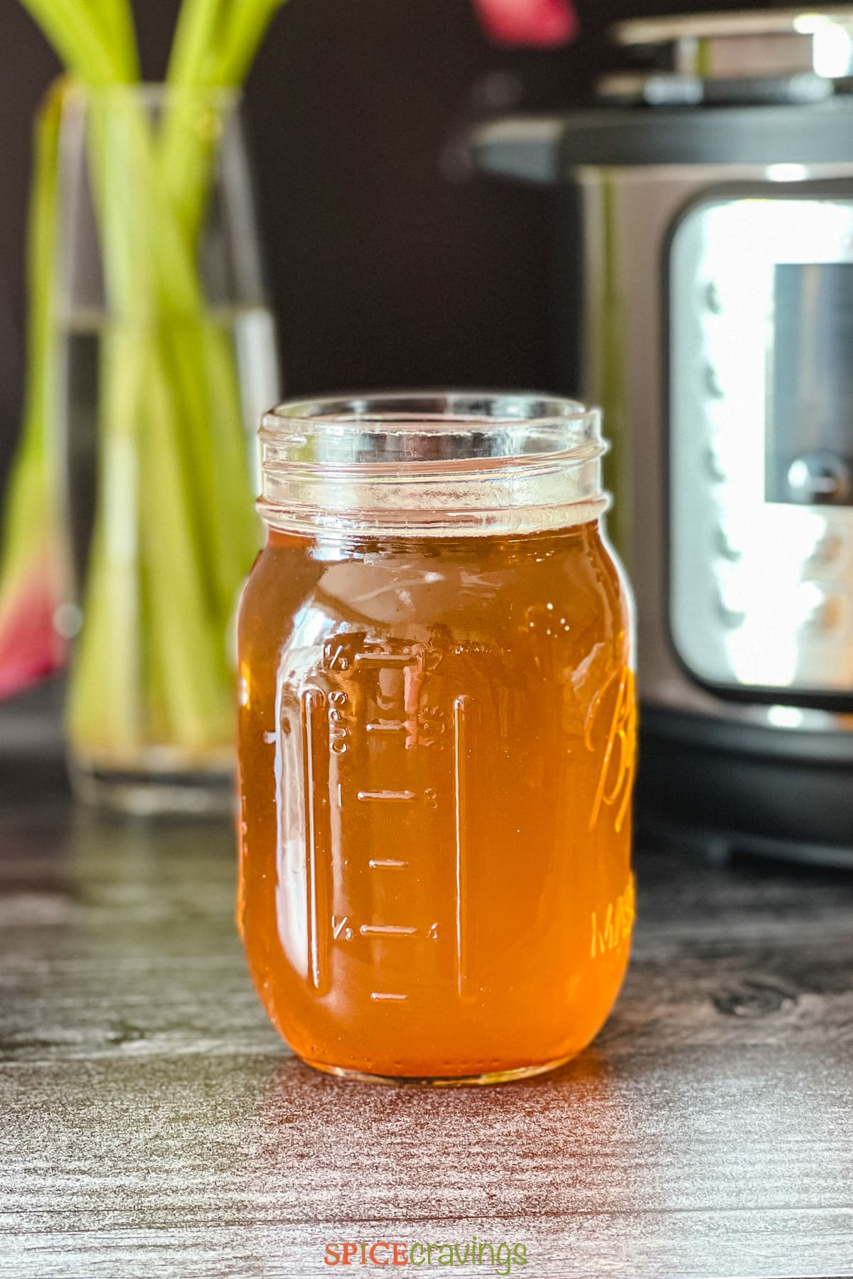 homemade clarified butter in two glass jars