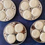 idli batter in molds