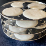 idli batter in mold stand