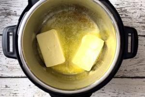 melting butter in instant pot
