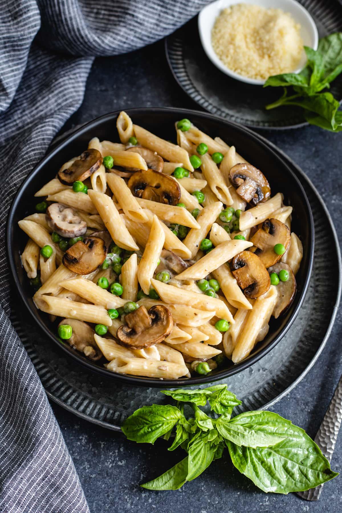 Creamy Mushroom Pasta Instant Pot Spice Cravings