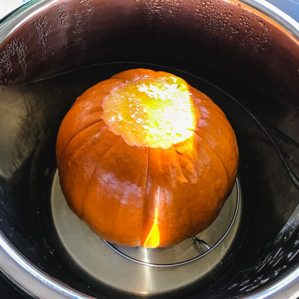 sugar pumpkin in instant pot