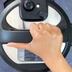 hand sealing instant pot
