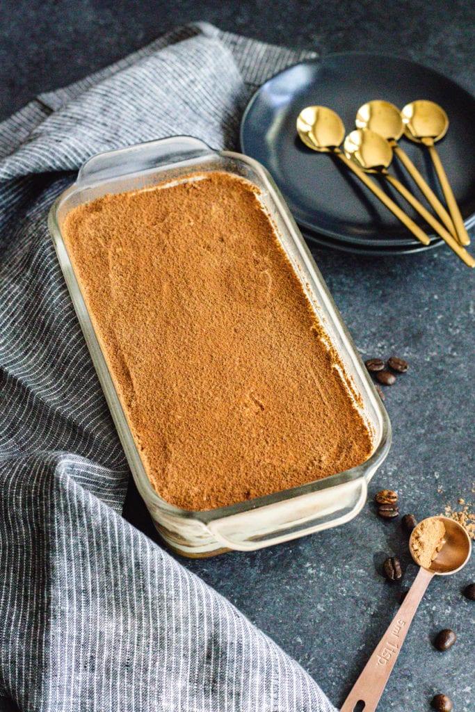 easy tiramisu recipe in loaf pan