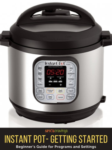 Image of Instant pot duo model