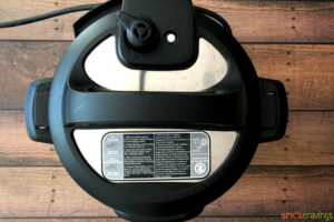 Pressure cooking in the instant pot