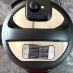 Lid on an Instant Pot