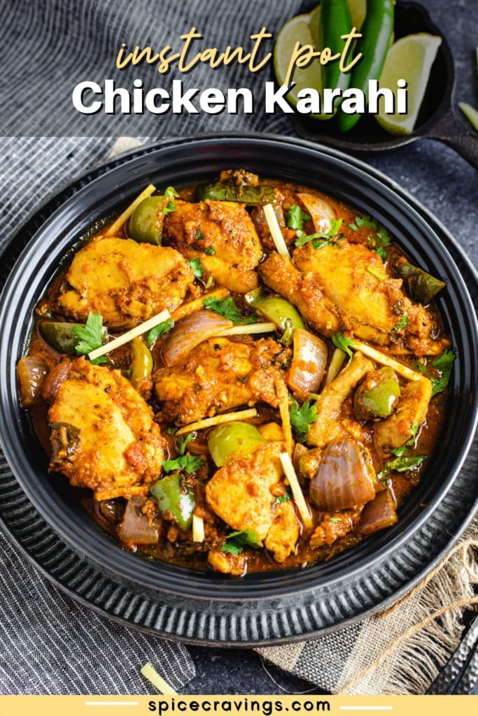Pressure Cooker Chicken Karahi