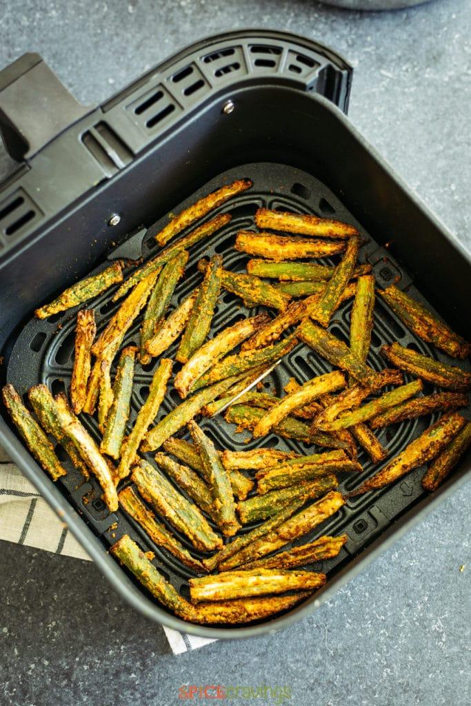 crispy okra in air fryer