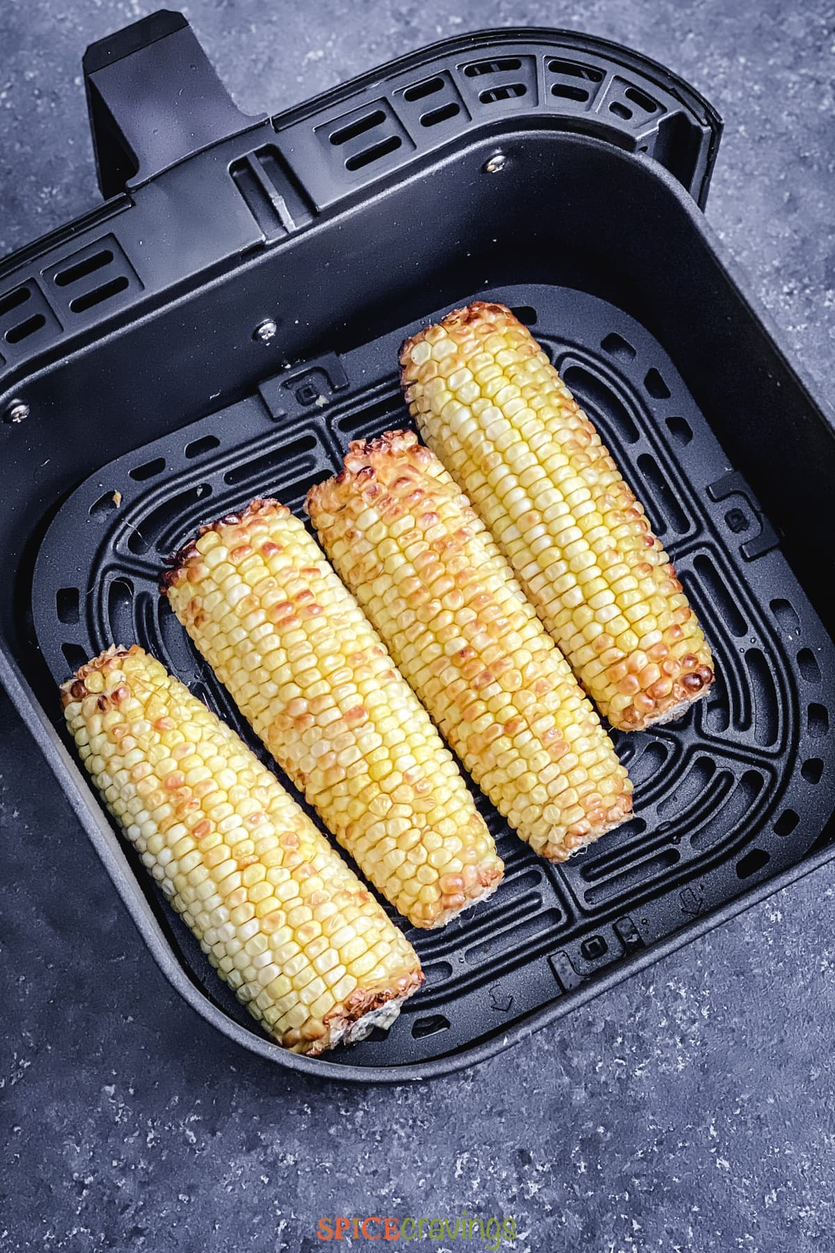 The BEST Roasted Corn on The Cob In The Air Fryer!   EFC