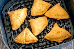 air fried samosas