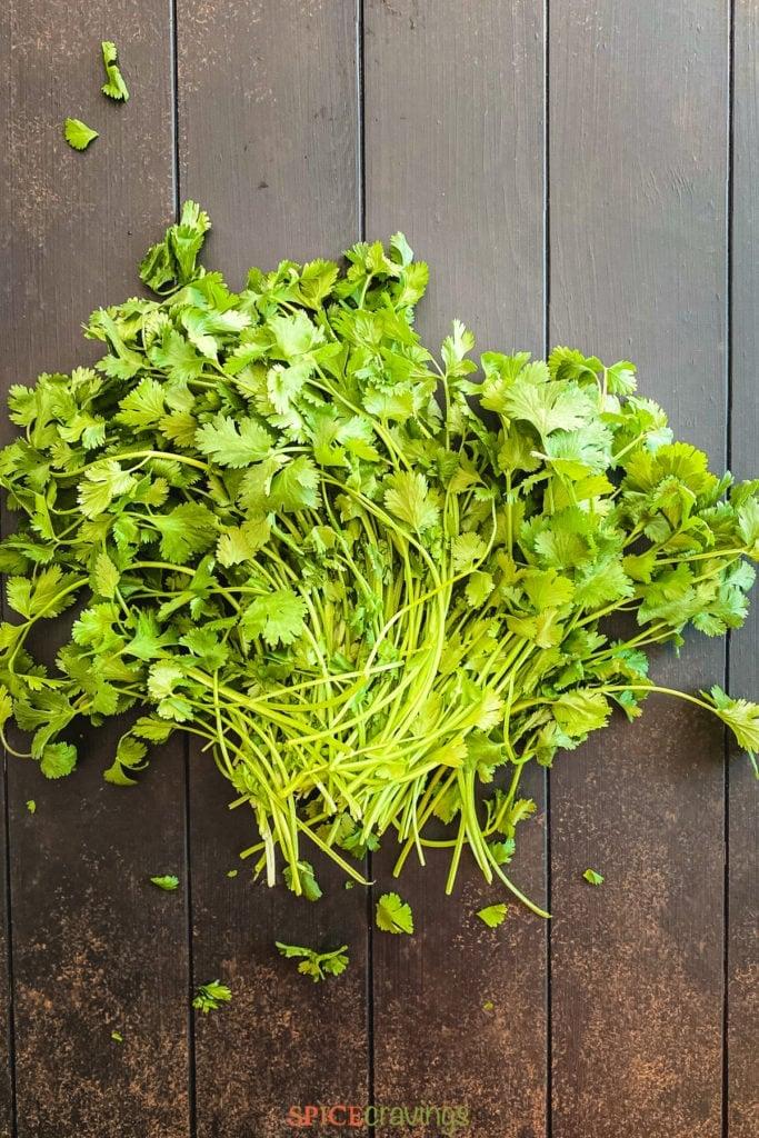 whole cilantro
