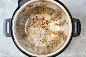 toasting cashews, coconut and whole spices in instant pot